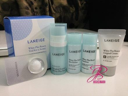 Bộ dưỡng da mini Laneige White Plus Renew Trial Kit - Bo duong da mini Laneige White Plus Renew Trial Kit