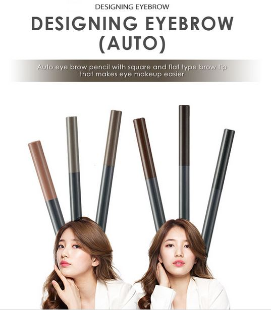 Chì kẻ mắt và chân mày The Face Shop Lovely MEEX Design My Eyebrow - Chi ke mat va chan may The Face Shop Lovely MEEX Design My Eyebrow