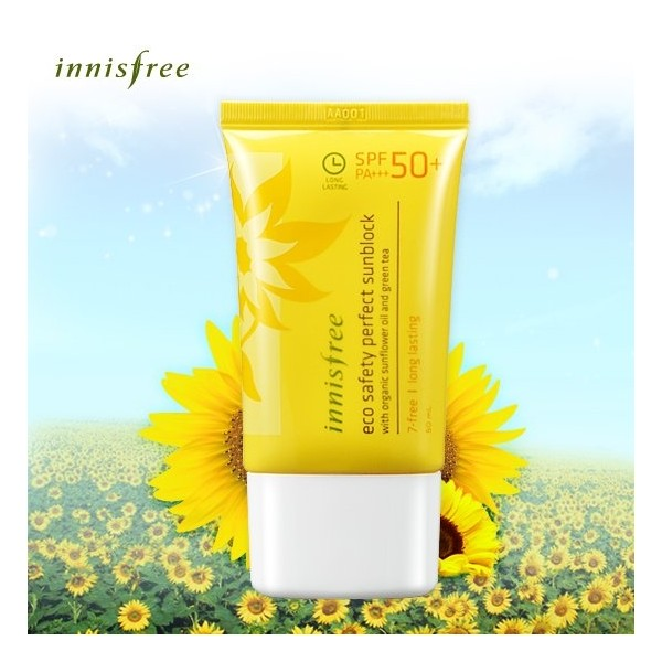 Kem chống nắng Innisfree Eco Safety Perfect Sunblock SPF 50++ - Kem chong nang Innisfree Eco Safety Perfect Sunblock SPF 50++