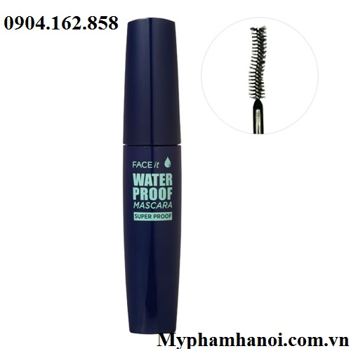 Mascara chống thấm nước Face It Water Proof Mascara The Face Shop - Mascara chong tham nuoc Face It Water Proof Mascara The Face Shop