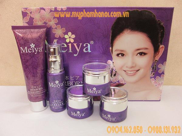 Mỹ phẩm trị nám tàn nhang dưỡng trắng da Meiya Nhật Bản - Giá 1.150k/ Bộ