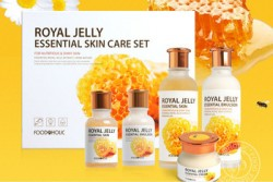 Bộ dưỡng trắng da Sữa Ong Chúa Foodaholic Royal Jelly Essential Skin Care Set - Bo duong trang da Sua Ong Chua Foodaholic Royal Jelly Essential Skin Care Set