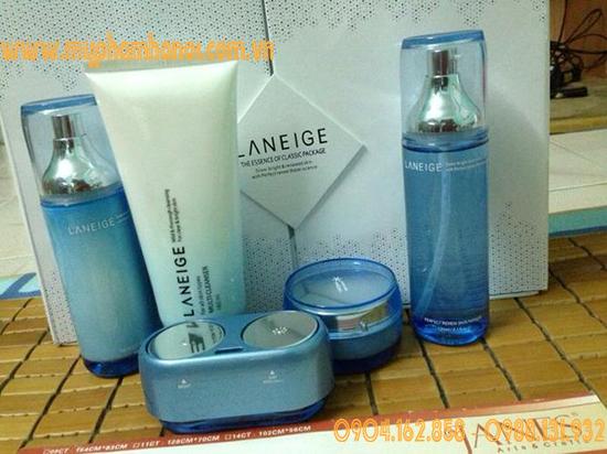 Bộ mỹ phẩm cao cấp dưỡng trắng, se khít lỗ chân lông, cân bằng độ ẩm, chống lão hóa da Laneige 6in1 - Giá 1.400k/ Bộ