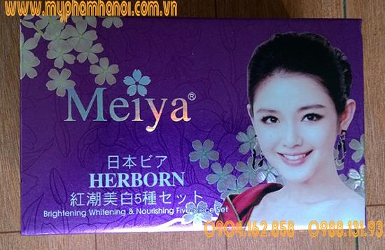 Bộ Mỹ Phẩm Trị Nám Tàn Nhang Dưỡng Trắng Da Meiya 2in1 - Giá 530k/ Bộ