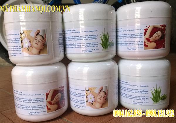 Kem Massage Mặt Tinh Chất Hoa Hồng Nha Đam Sữa